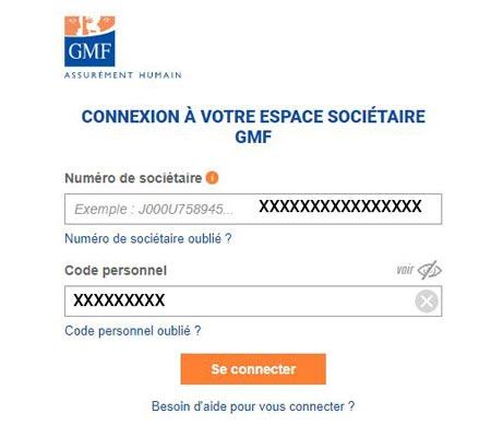 Connexion espace GMF
