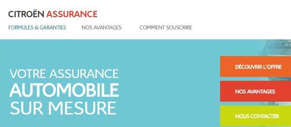 Espace assuré Citroën assurance