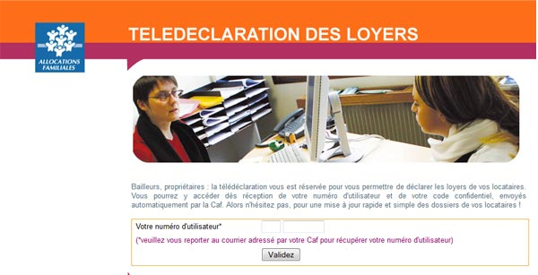 Authentification bailleur