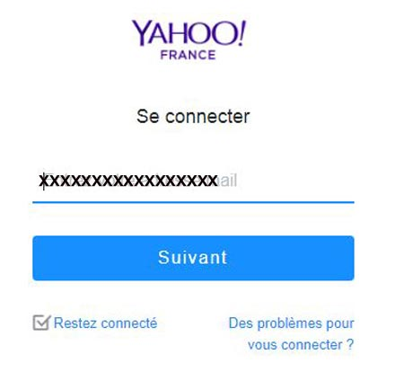 Me connecter a ma boite mail yahoo