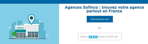 adresse postale agence sofinco