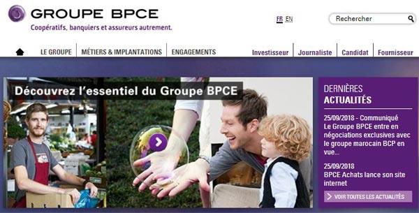 Groupe BPCE accueil