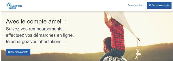 www.amelie.fr créer mon compte