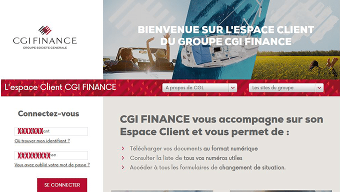 cgi finance porsche financial services
