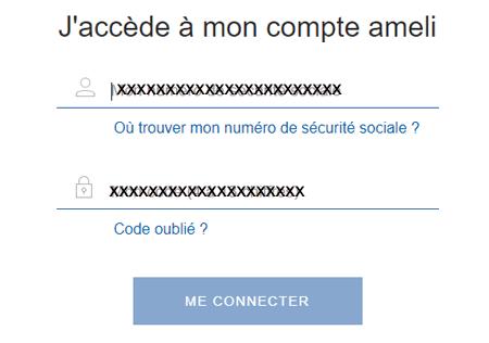 Ameli.fr compte assuré