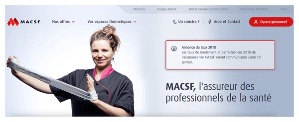 Consulter le site macsf.fr