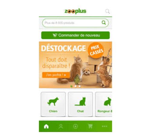 Mon zooplus application