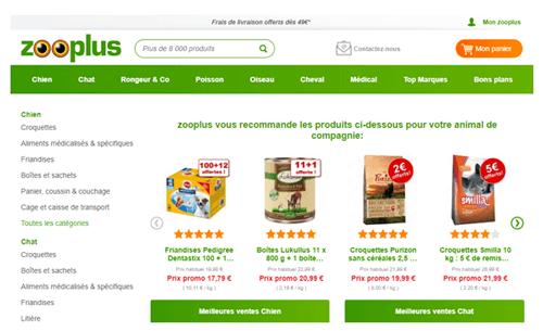 www.zooplus.fr suivi commande
