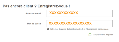 Espace client zooplus.fr