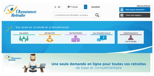 www.assurance retraite.fr espace personnel
