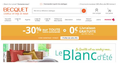Becquet.fr espace client
