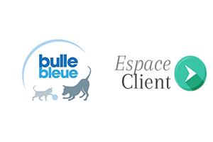 Connexion au compte bulle bleue