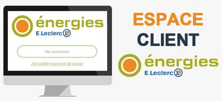 Energie leclerc services espace perso
