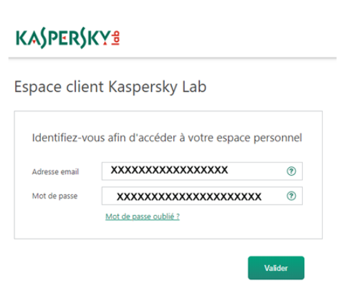 My Kaspersky com activation code