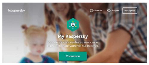 Accès à mon compte Kaspersky