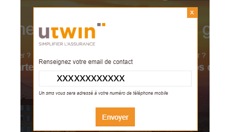 Utwin assurance mot de passe perdu