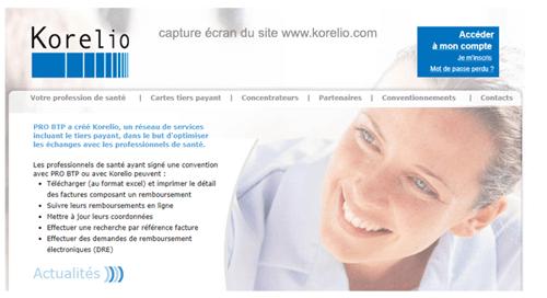 Consulter le site www.korelio.com