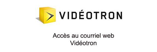 Connexion à vidéotron webmail