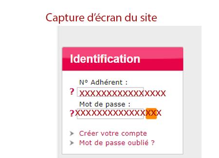 Identification espace santé lamedicale.fr