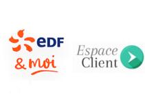 Accès EDF espace client sur mobile