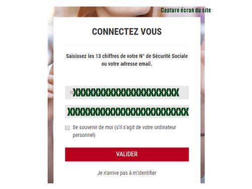 Connexion au compte ascore gestion