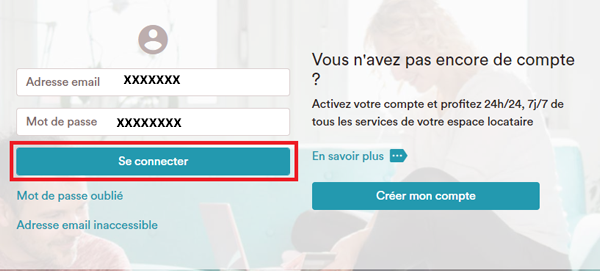 Connexion sur https //clients-efidis.cdc-habitat.fr