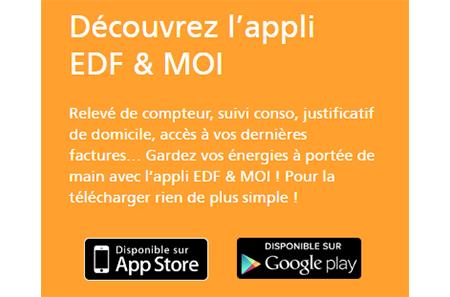 Application mobile EDF