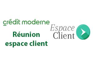 Accès client Crédit Moderne Virement express