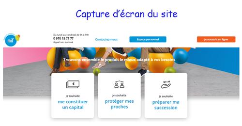 Se connecter sur https //www.mifassur.com espace personnel