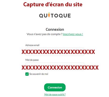 Espace client quitoque