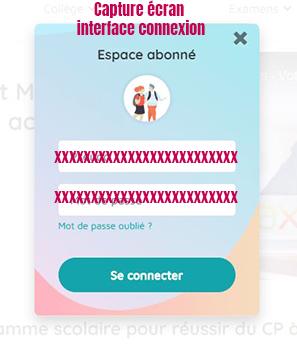 se connecter espace abonne maxicours