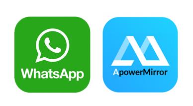 whatsapp sur pc avec ApowerMirror