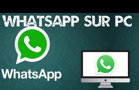 whatsapp sur ordinateur