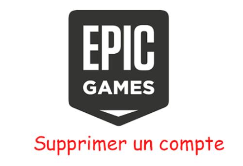 Comment supprimer un compte epic games