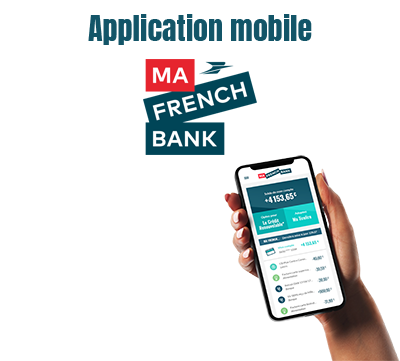application mobile ma french bank