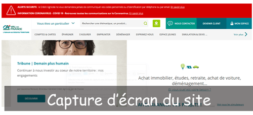 Consulter mon compte www.ca-valdefrance.fr