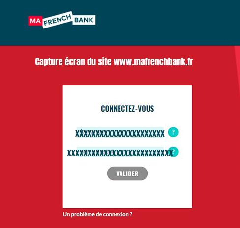 se connecter à mon espace client web ma french bank