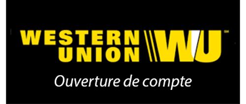 créer un compte western union