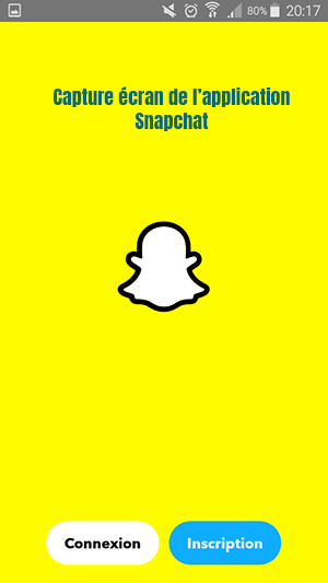 application mobile snapchat