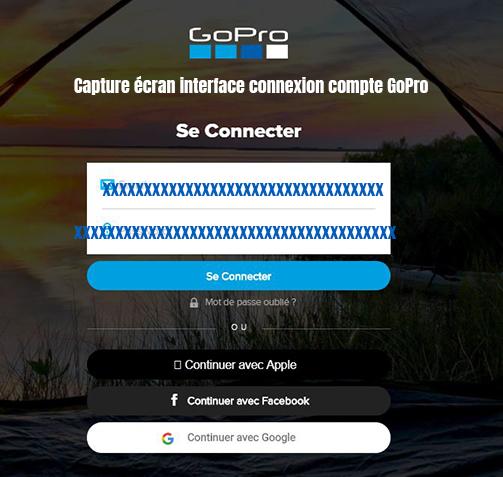 connexion compte gopro