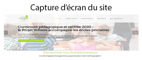 Se rendre sur le site www.les-fondamentaux.fr
