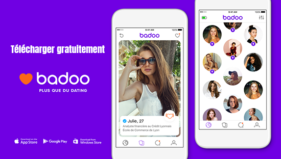 application mobile badoo