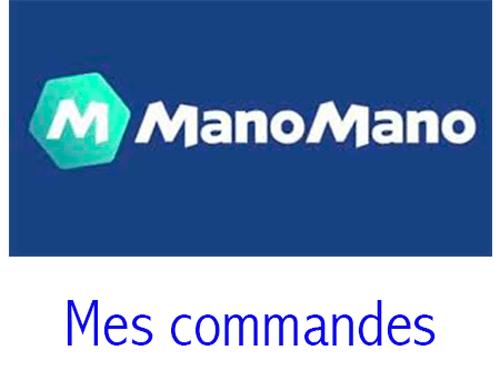 Manomano mes commandes