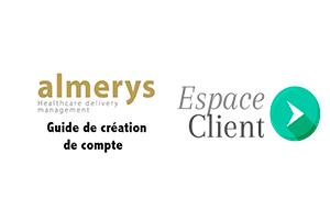 S'inscrire sur le site almerys