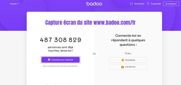 Francais in badoo sign Télécharger Badoo