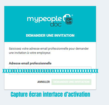 activation compte my people doc