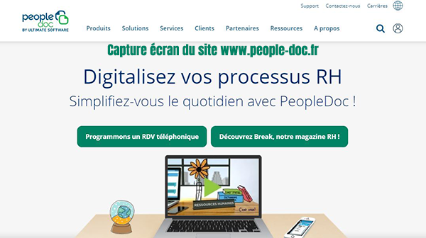 plateforme digitalisation rh