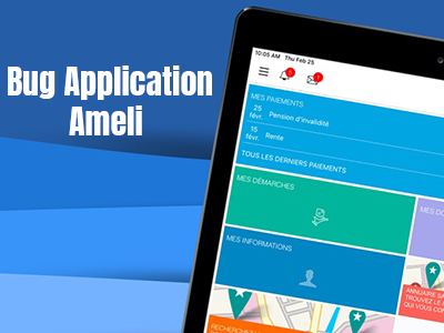 bug application ameli