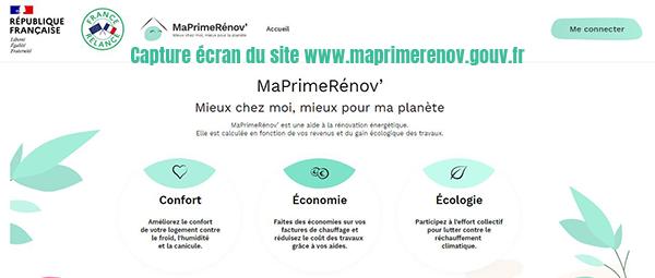 maprime renov france