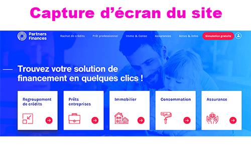Se connecter sur partners-finances.fr